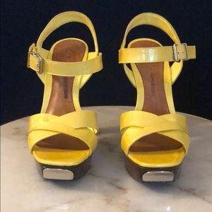 Aldo's high platform shoes